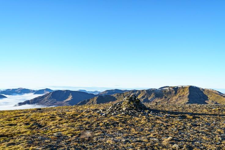 Toll Creagach Summit Cairn, Glen Affric
