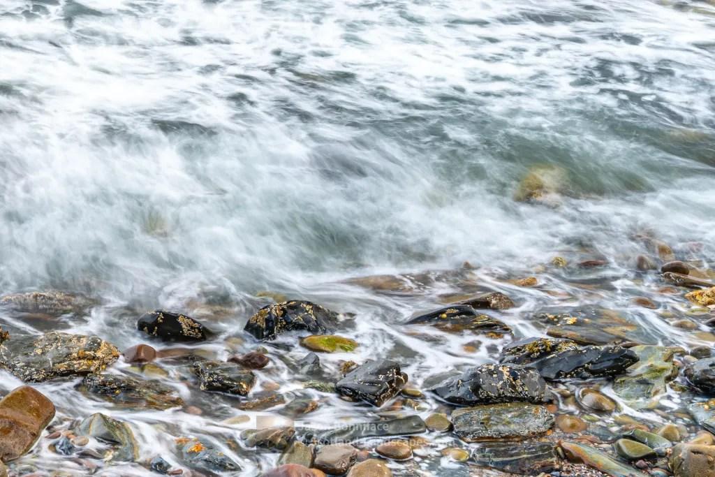 Waves Amongst the Rocks - Lerwick, Shetland