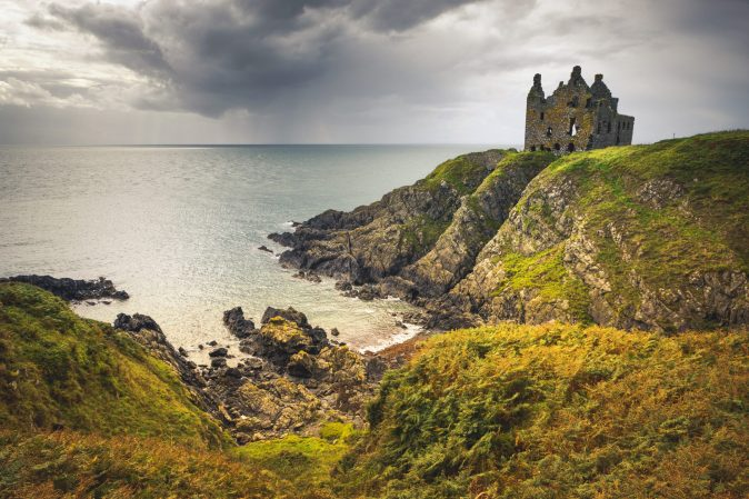 Dunskey Castle, Dumfries and Galloway, South West Coastal 300 - VisitScotland / Visit South West Scotland / Damian Shields