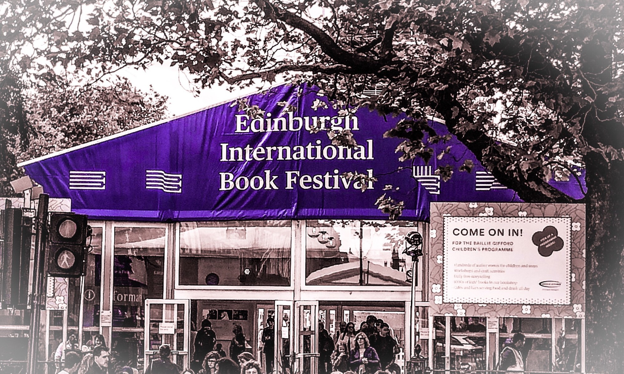 Edinburgh International Book Show 2019 front entrance
