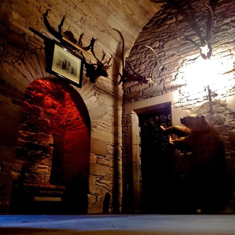 Glamis Castle sala di Duncan