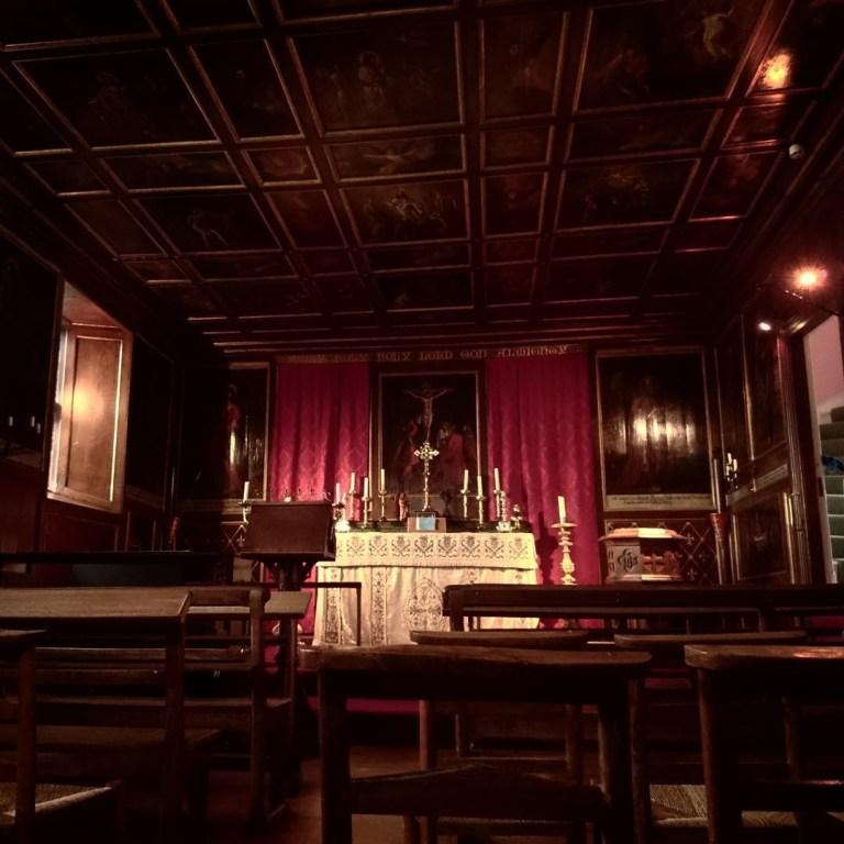 Glamis Castle cappella