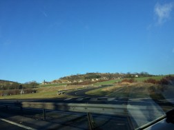 A beautiful little town we drove through (picture doesn't do justice!)