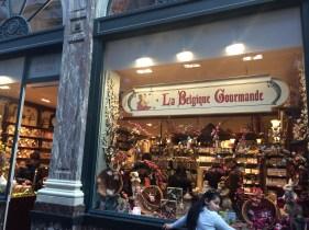 Belgian Chocolate everywhere!