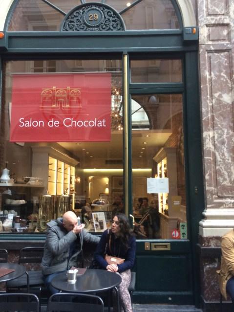 More Chocolate...
