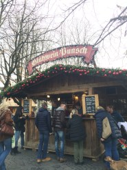 More Glühwein stands… an important staple of the Christmas Markets.