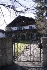 Passed by this home. Loved the gate!