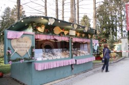 Adorable Austrian/Bavarian pastry stands everywhere. Girl inside: not happy.