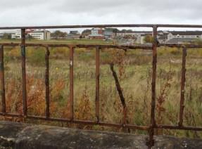 Rusting railings, Easterhouse.