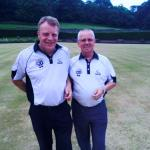 Pairs Winners - Jim Bonner & Brian Young of Tranent