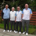 Senior Fours Winners - Sinclair Thomson_Willie Doran_Alex Jamieson