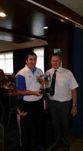 Cockenzie & Port Seton Gents Championship Singles Winner - Derek Oliver