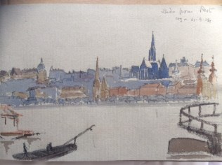 'Buda from Pest' by William