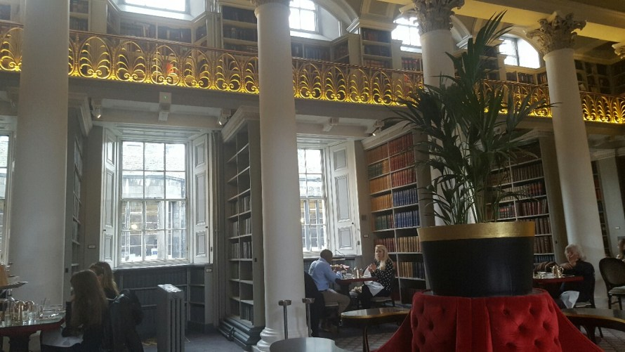 Scotland's Best Afternoon Tea at Colonnades, Signet Library, Edinburgh