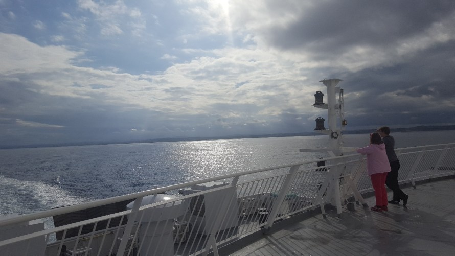 Orkney Ferry with Kids
