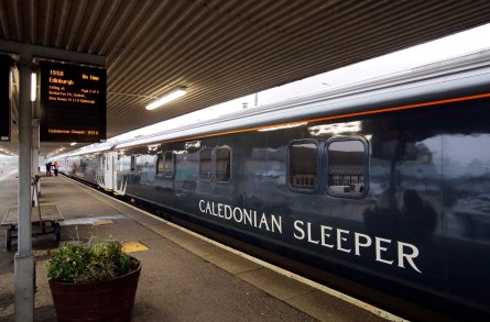 Book tickets on the Sleeper Train