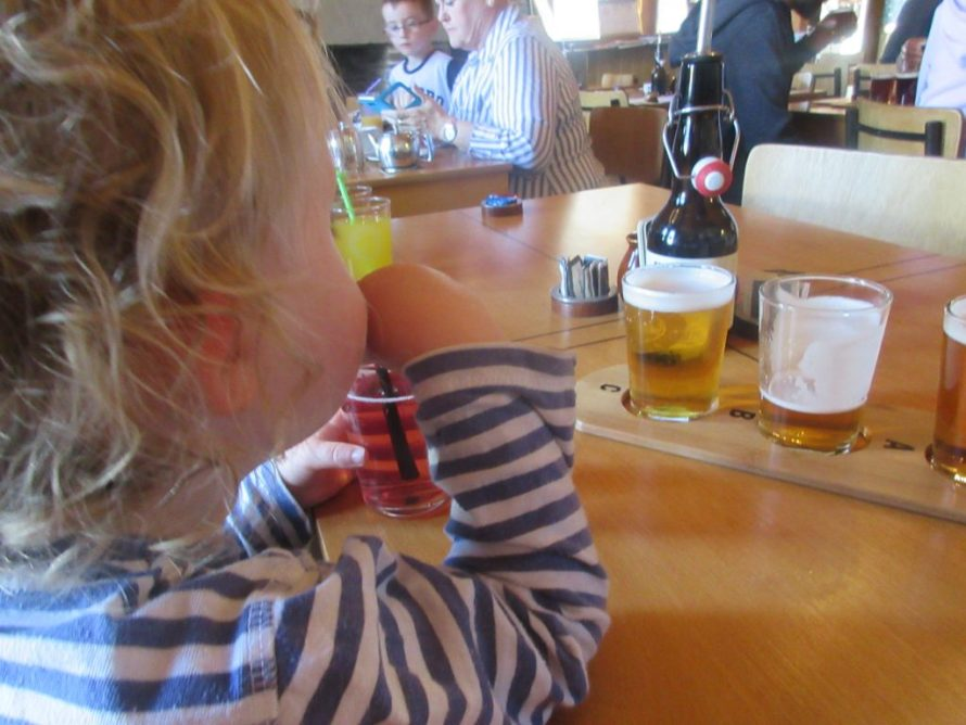 Visiting Orkney Brewery with Kids