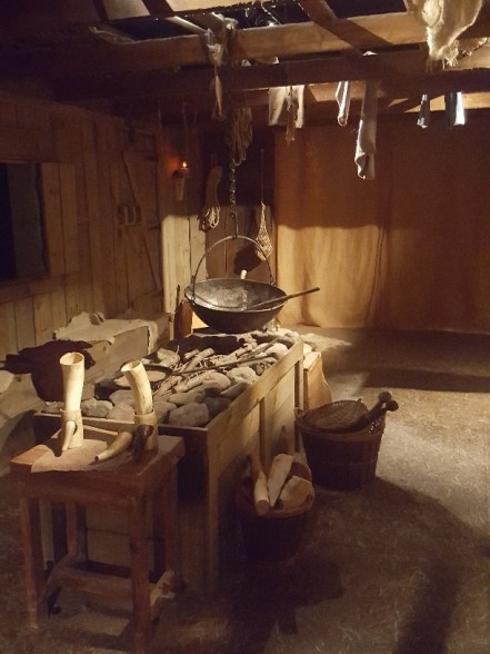 Made welcome inside a Viking Home