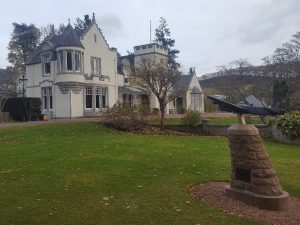 Fining Dining at Douneside House, Tarland, Aberdeenshire