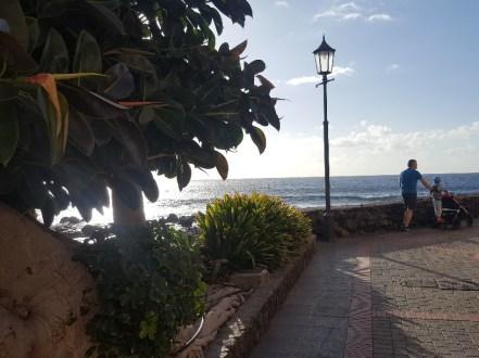 An evening walk in Valle Gran Rey