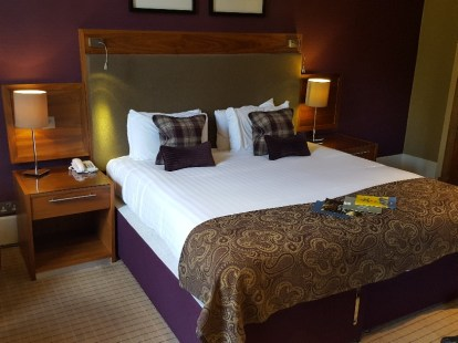 Our accommodation at Crieff Hydro