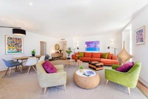 Apartment living room in Chiado