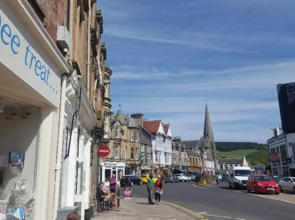 The market town of Peebles