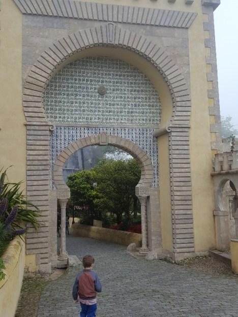 Exploring Pena Palace
