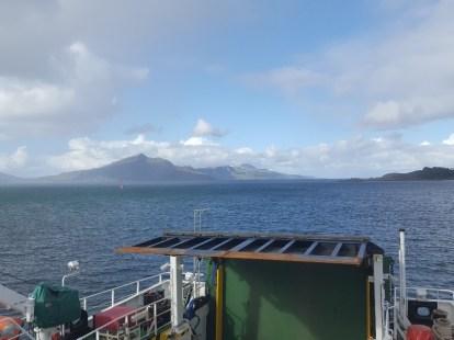 Sailing to Raasay