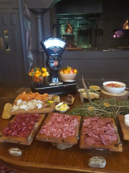 Breakfast served within the Clunie Drawing Room