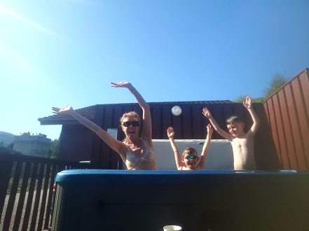 Hot Tub time - Argyll Holidays