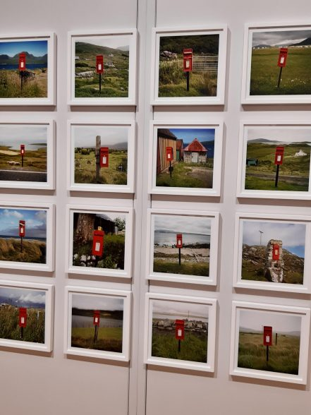 Quirky Scottish post boxes by Martin Parr