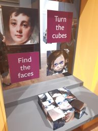 Art cube jigsaws