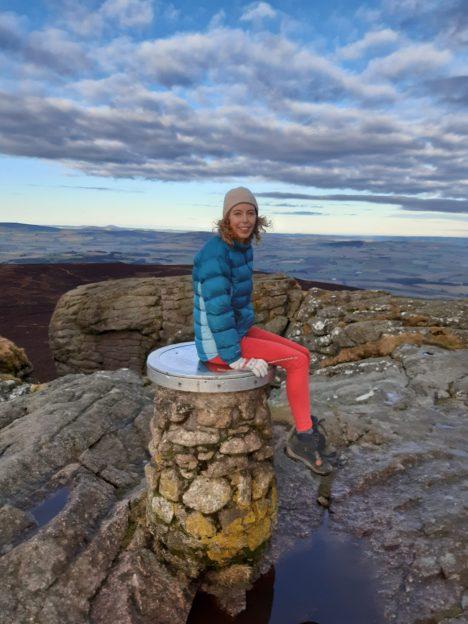 On top of the world - Bennachie