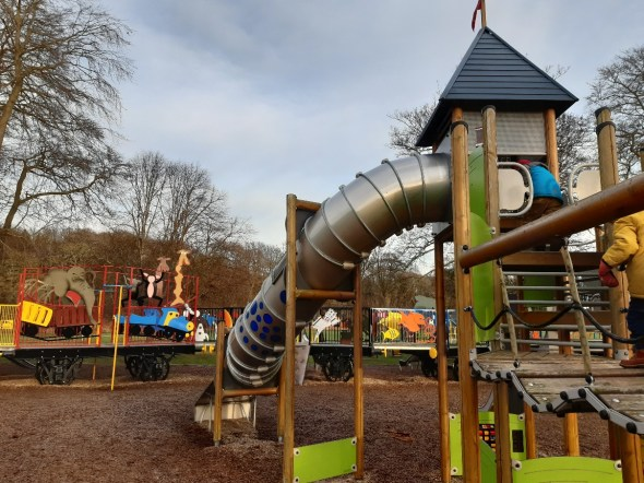 Fun and games at Seaton Park