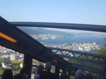 Catching the funicular