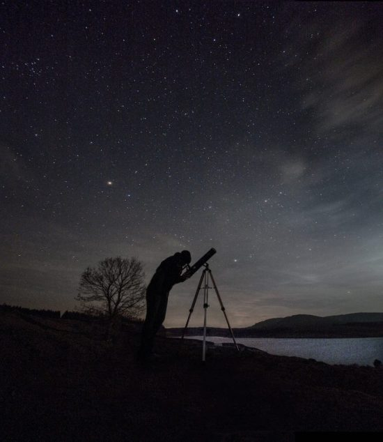 Stargazing with Kids as Saturn and Jupiter Align