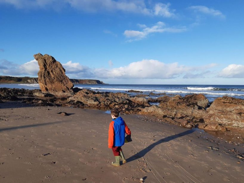 Family Walk and Things to Do in Cullen and Portnockie Moray
