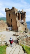 Urquhart Castle - great vantage point for serious Nessie hunters
