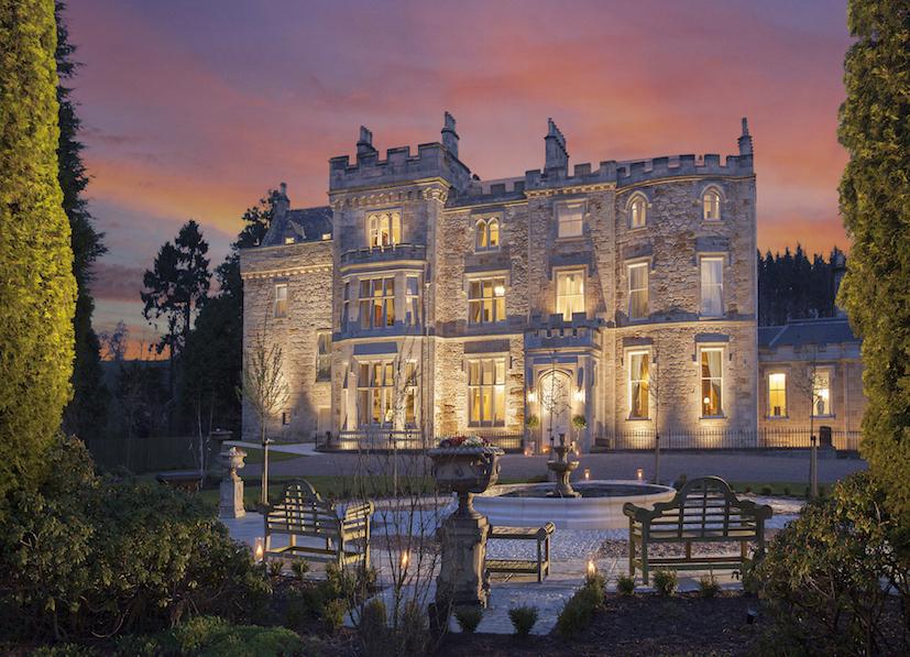 Stay in a Castle in Scotland, Crossbasket Castle