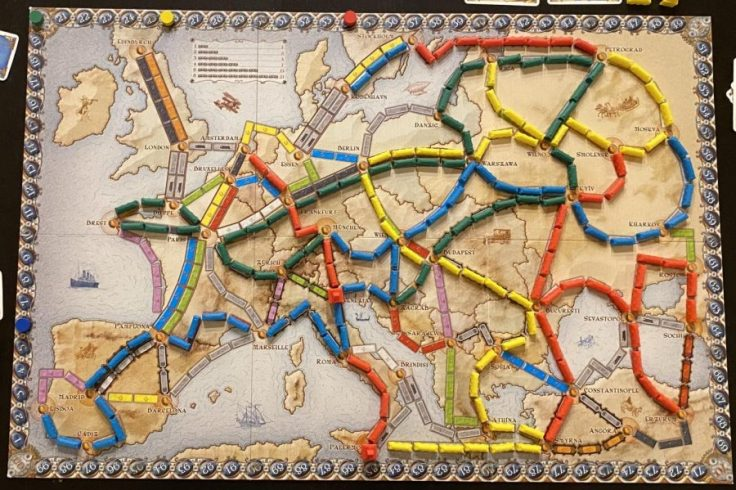 Board Game Reviews: Ticket to Ride Europe – Scot Scoop News