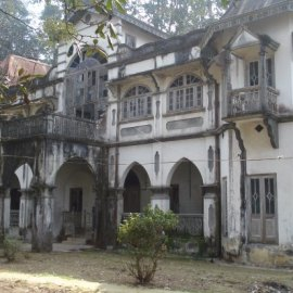 Tagores house in Kalimpong