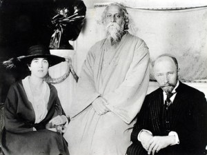 Maria and Hermann Keyserling with Rabindranath Tagore
