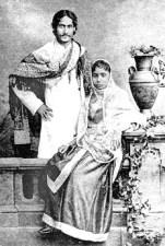 Rabindranath Tagore and Mrinalini Devi, 1883  Image credit: Ministry of Culture, Government of India