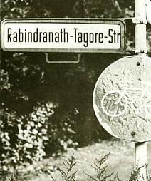Rabindranath Tagore Street in Berlin, opened in 1961  (Photo: Christian Zeiske, Berlin)