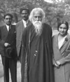 Rabindranath Tagore and family