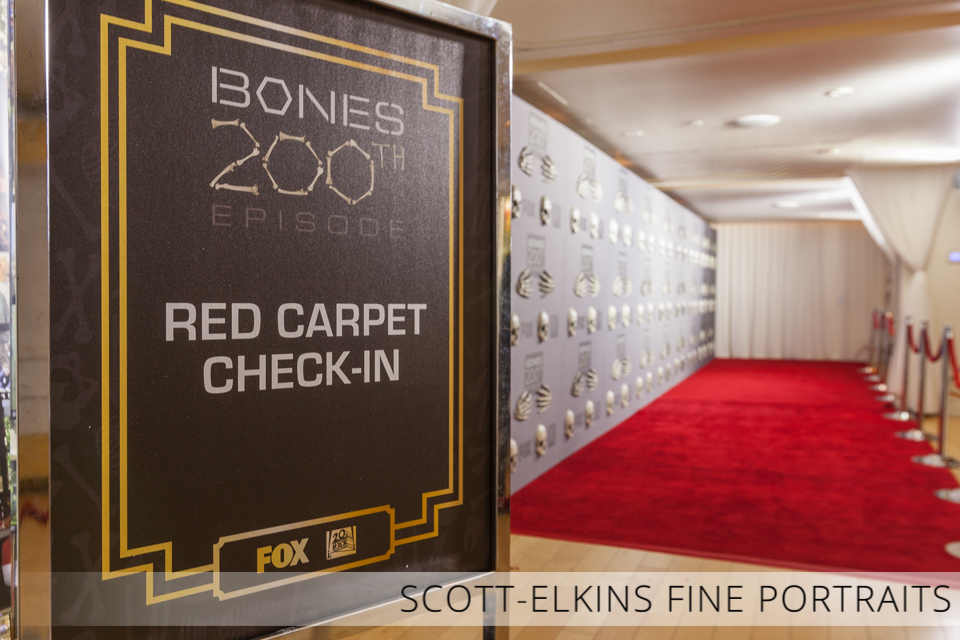 Bones 20th Episode Red Carpet