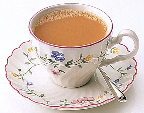 Cup of hot 'chai'
