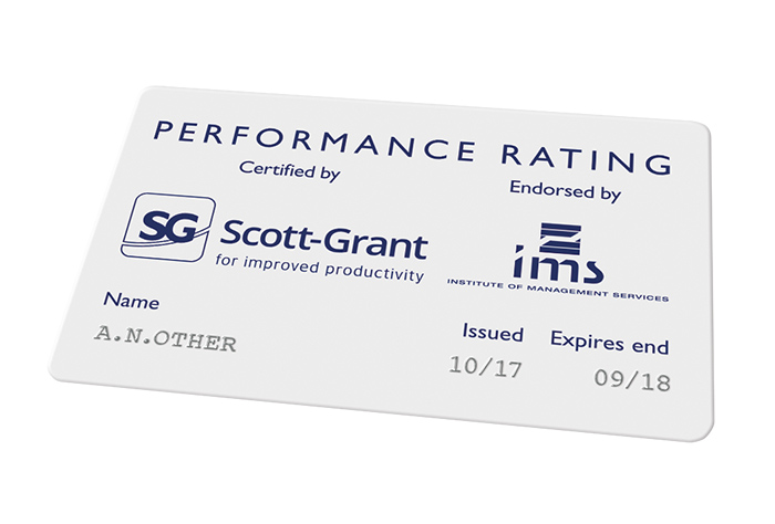 Scott-Grant official performance rating qualification