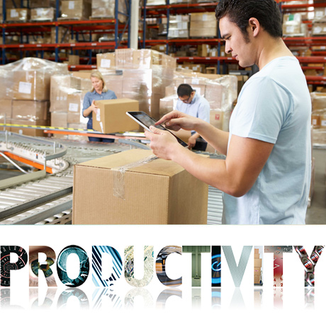 Productivity issues in warehousing and distribution